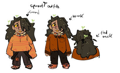 sprout outfits :)