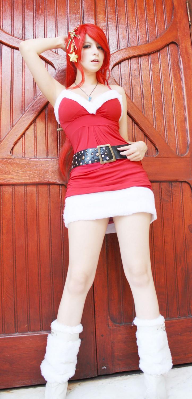 XMas Editon - Erza Scarlet by usagiyuu on DeviantArt