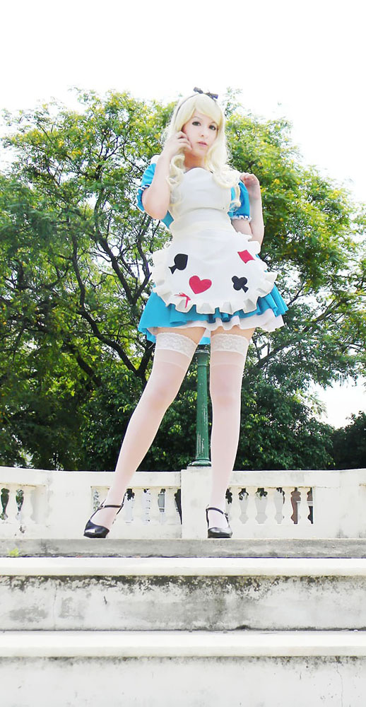New Girl in the Kingdom - Alice in Wonderland by usagiyuu