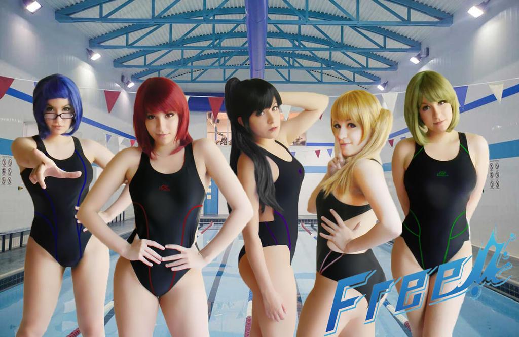 FREE! Iwatobi Swim Club - Female ver. - by usagiyuu