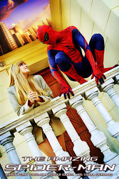 Spiderman and Gwen Stacy - The Amazing Spiderman