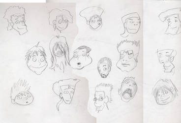 Have some faces by raujinn