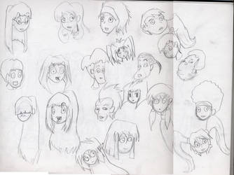 Have some MORE faces by raujinn