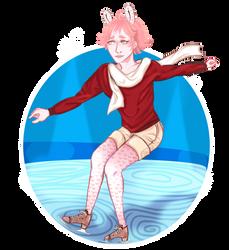 DAMMED SS: Dian Skating by Shampoo-chan13