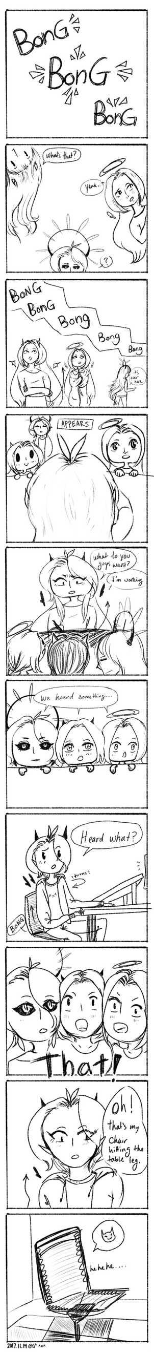My Daily Do's Comic Test by Shampoo-chan13