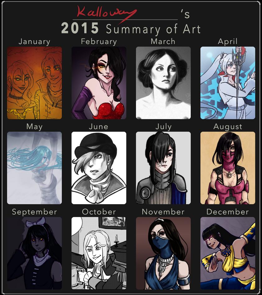 2015 Art Summary [Digital] by Kalloway