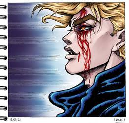 Dio Brando (manga redraw)