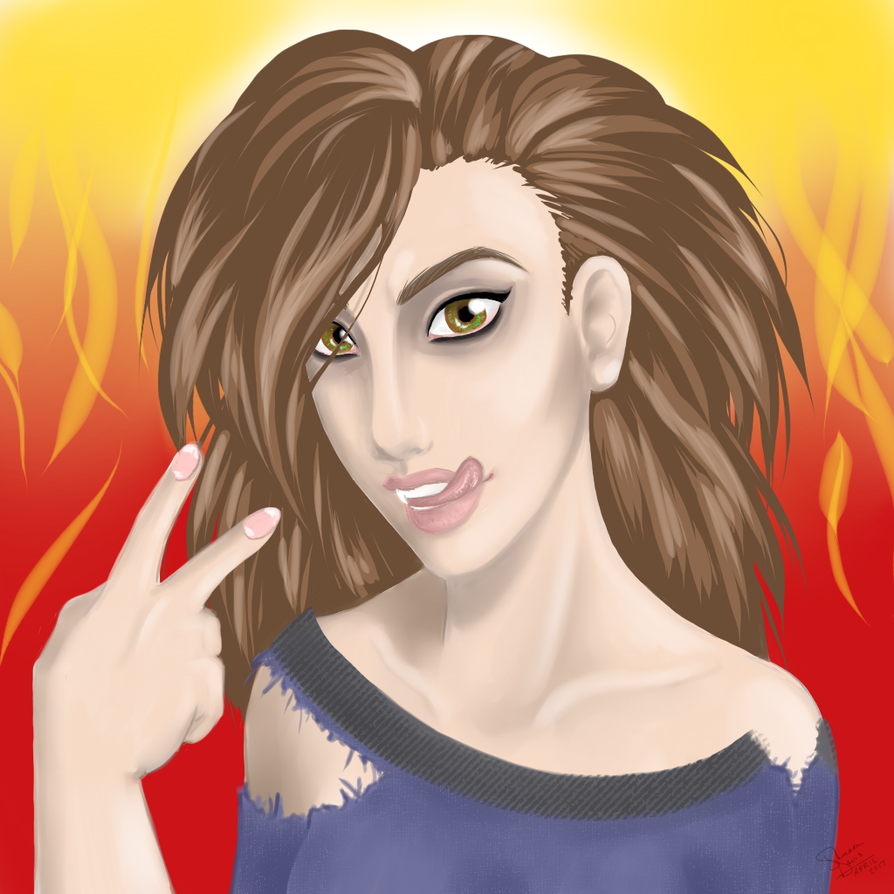 Lainey the Arsonist by MalkavianOne