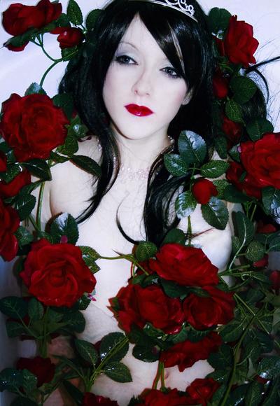Die Rose im Wasser by Rosenbraut