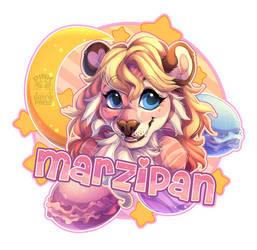 Marzipan deluxe badge