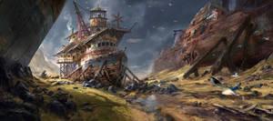 Captain gull by lhebrardrobin