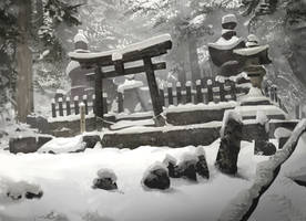 Koyasan_Japan by lhebrardrobin