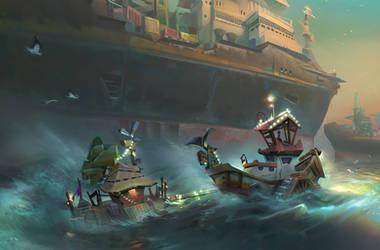 Fisherman's tales #3 by lhebrardrobin
