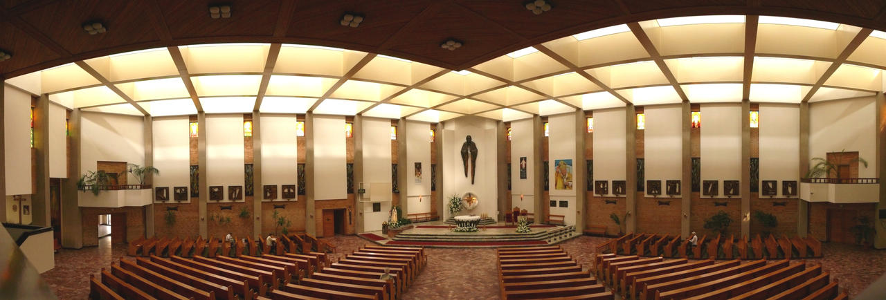 modern church interior panorama by wesoly romek on deviantart