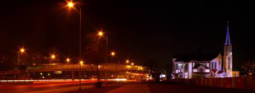 Evening illumination by wesoly-romek