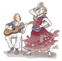 Forever Flamenco by TheDelphina