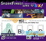 Spider Forest at Small Press Expo 2013 by TheDelphina
