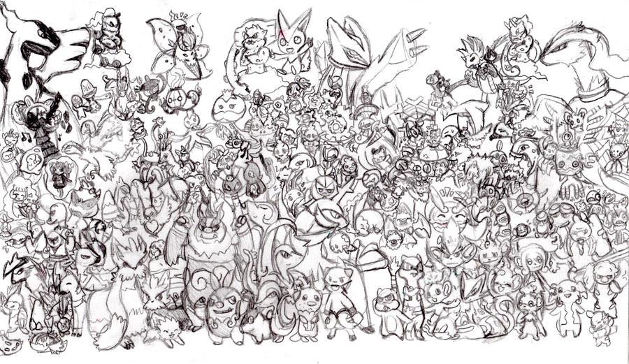 Pokemon Coloring Pages All Pokemon   Bgcentrum