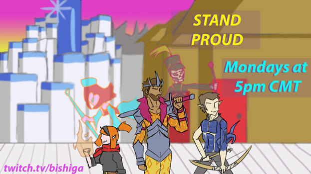 STAND PROUD Campaign Title Card