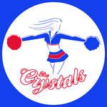 Crystals Cheerleader Logo