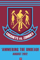 COCKNEYS vs. ZOMBIES - Movie Poster by antacidimages