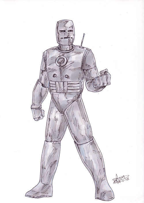 Iron Man Project: MK1 by antacidimages