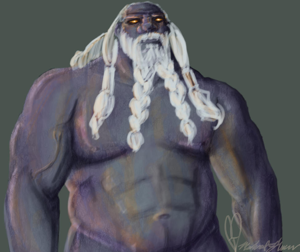 Ymir the Frost Giant by AnimeMan90