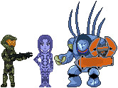 Halo Sprites by Kayari-of-Midnight