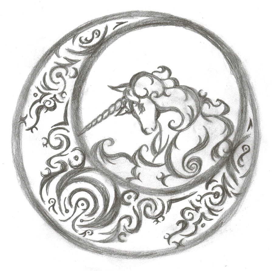 Unicorn tattoo design by kayari of midnight on deviantart for Pros and cons of getting a tattoo