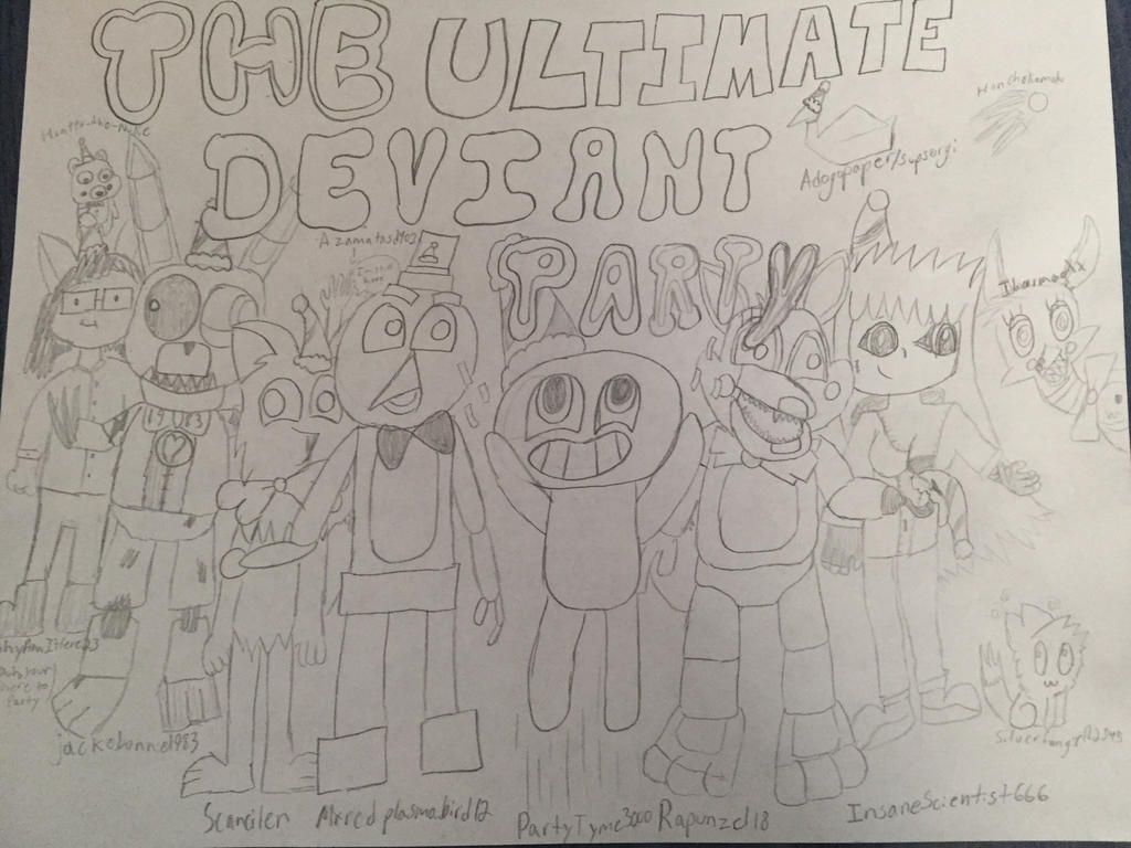 The ULTIMATE deviant party