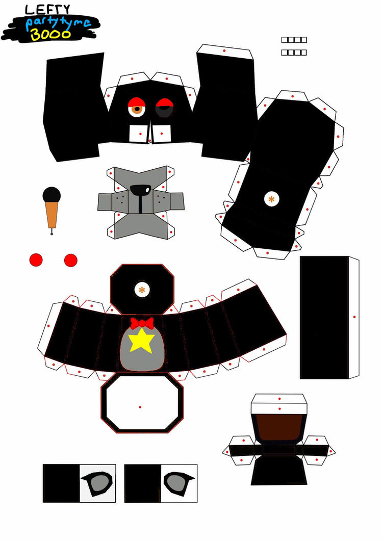 Lefty papercraft part one by partytyme3000 on deviantart lefty papercraft part one by partytyme3000 altavistaventures Image collections