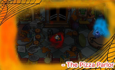The Pizza Parlor after the shutdown by PartyTyme3000