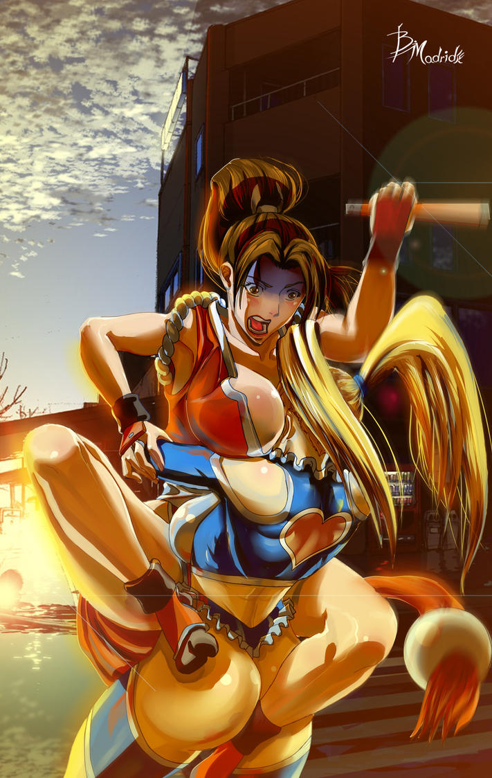 R.Mika Vs Mai Shiranui Revenge Update by BMadrid