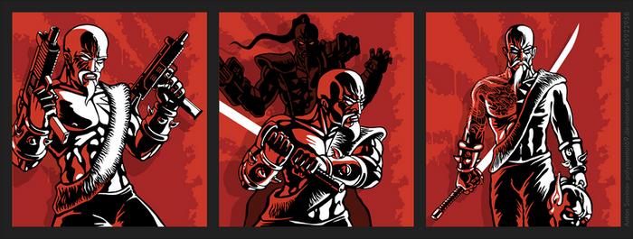 Shadow Warrior Classic Redux menu background art