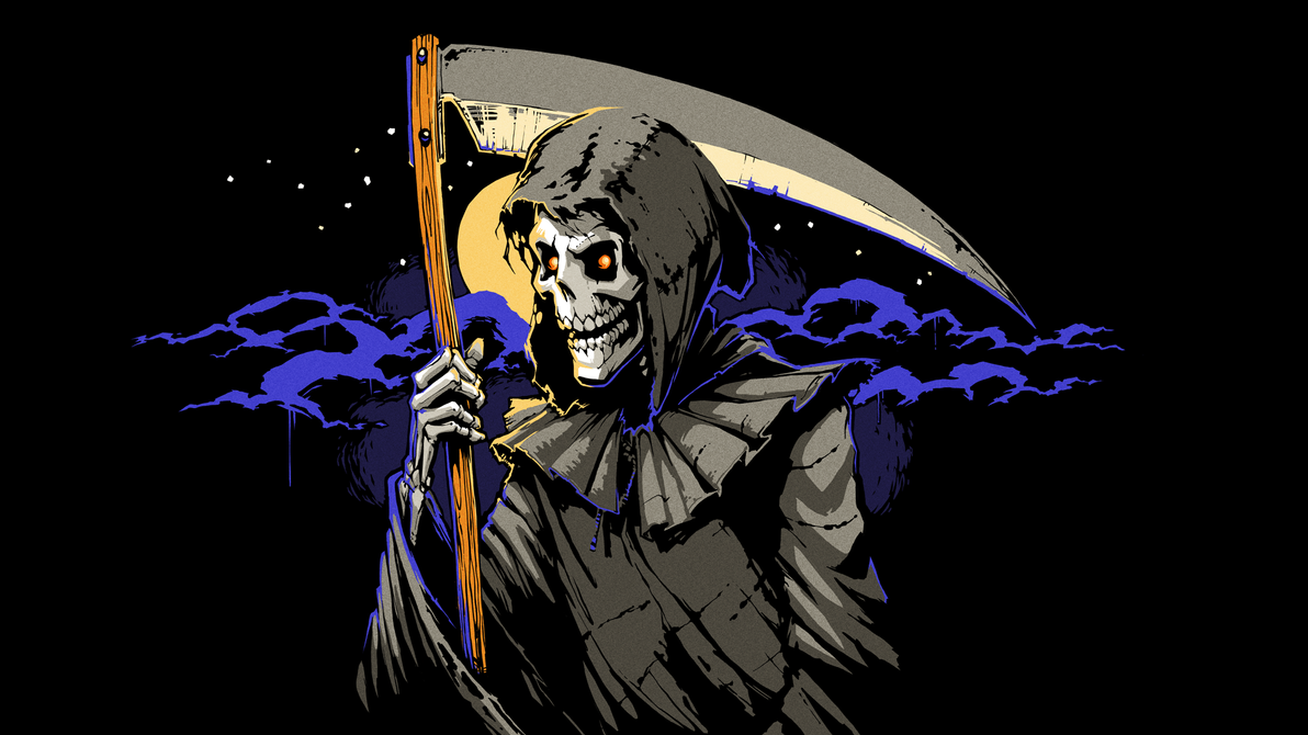 8-bit Adventure Anthology Steam Card - Reaper by Polymental69