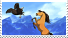 spirit the stallion of the cimarron stamp by RetroFoxz