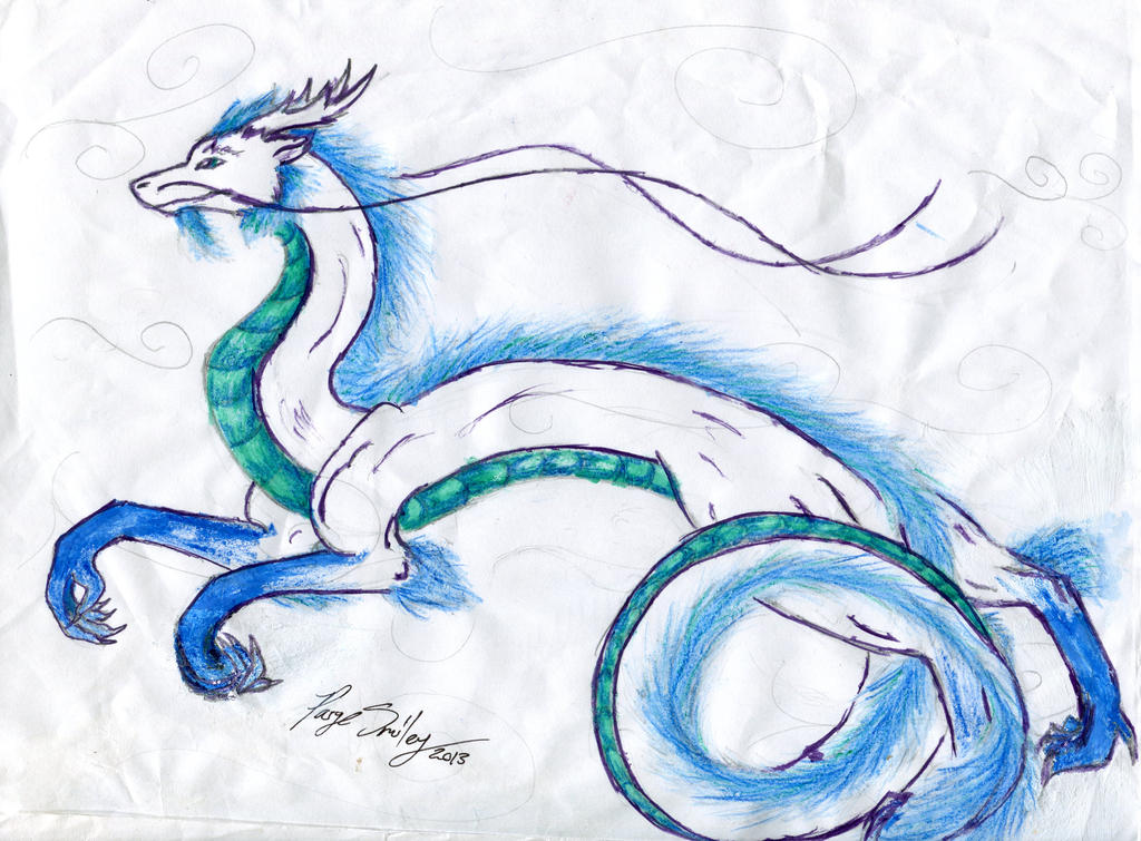 Chinese Air Dragon by Mysterious-Secrets on DeviantArt