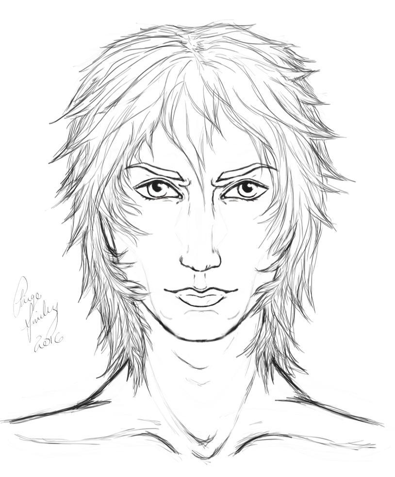 Lucius Line-Art by I-WindWalker-I