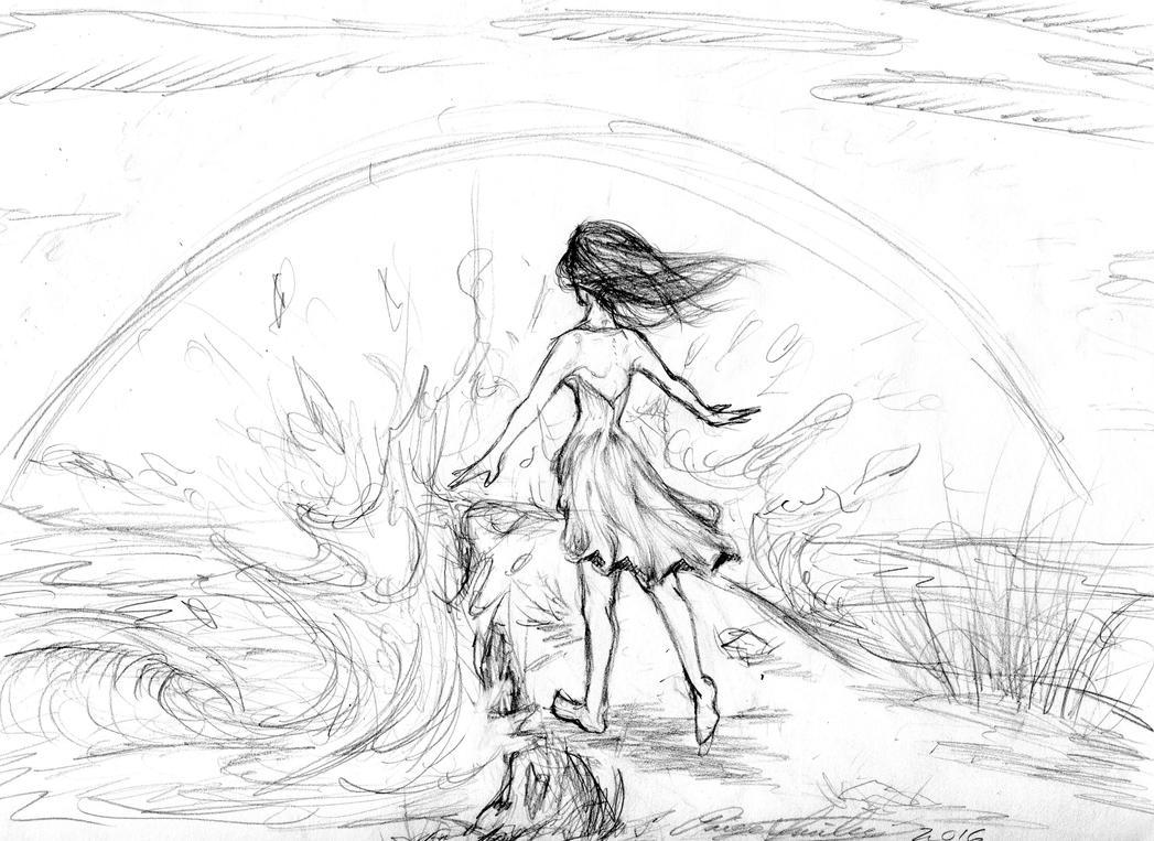 Freedom Sketch by I-WindWalker-I