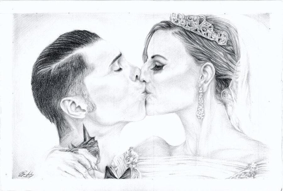 Andy and Juliet: Wedding by I-WindWalker-I