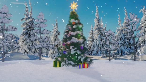 Christmas tree (day)