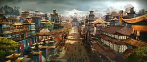 Ping, the Capitol of Mandala