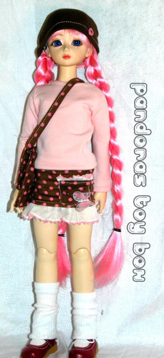 Pink Messenger Set by Pandoras-Toy-Box