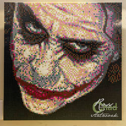 Heath Ledger Joker LEGO Mosaic