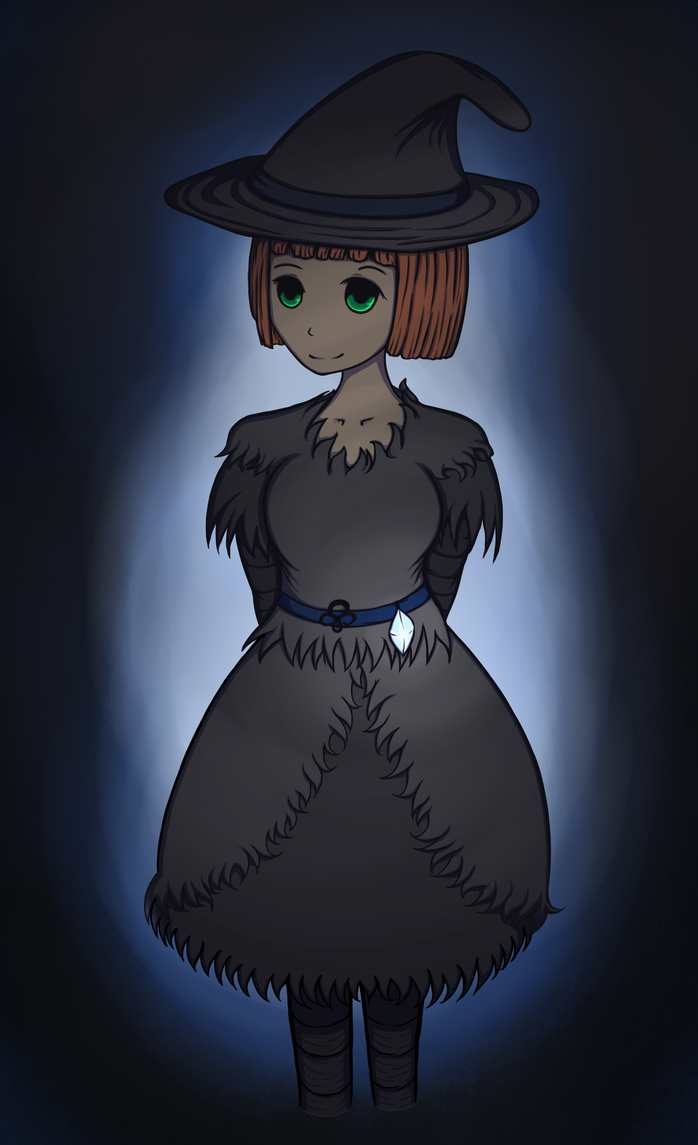Little Witch in the Dark by AbyLockhart