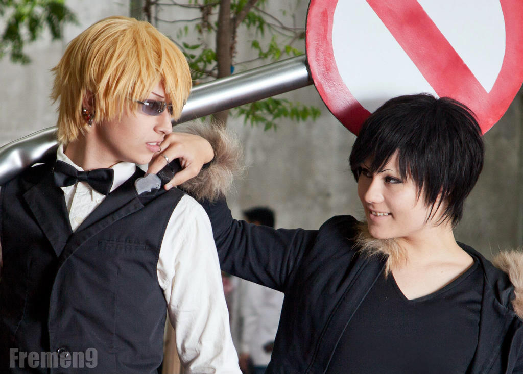 Durarara- Always at Each Other's Throats by Yonejiro