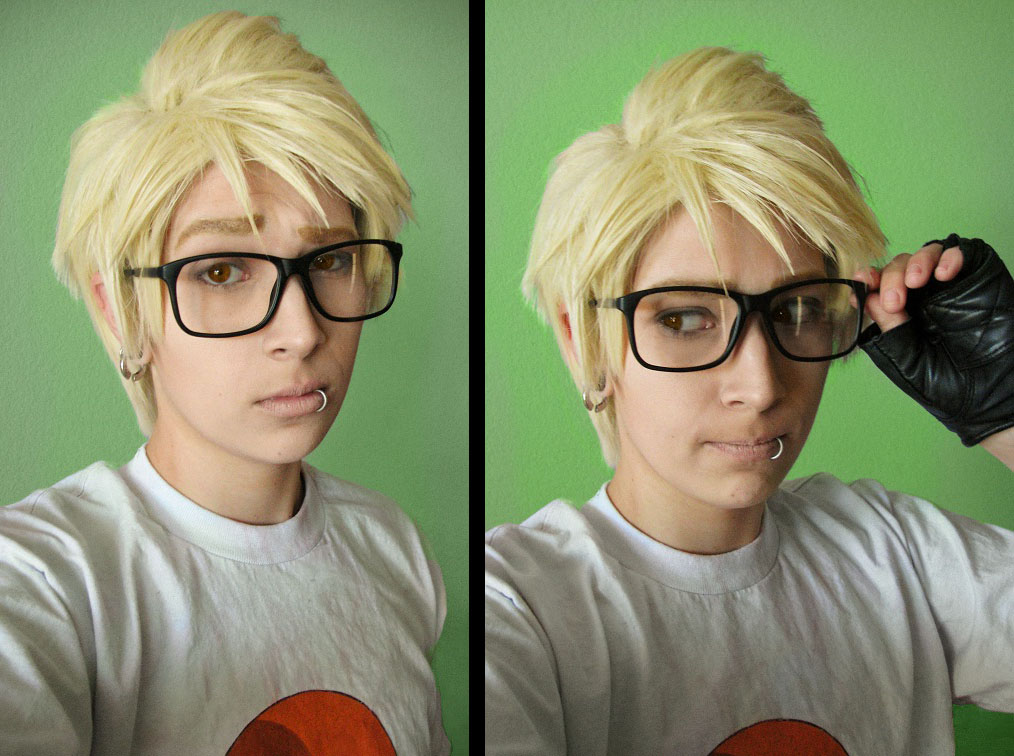 Homestuck: Dirk Strider - Jake Glasses by Yonejiro