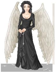 Angel by Feylyren