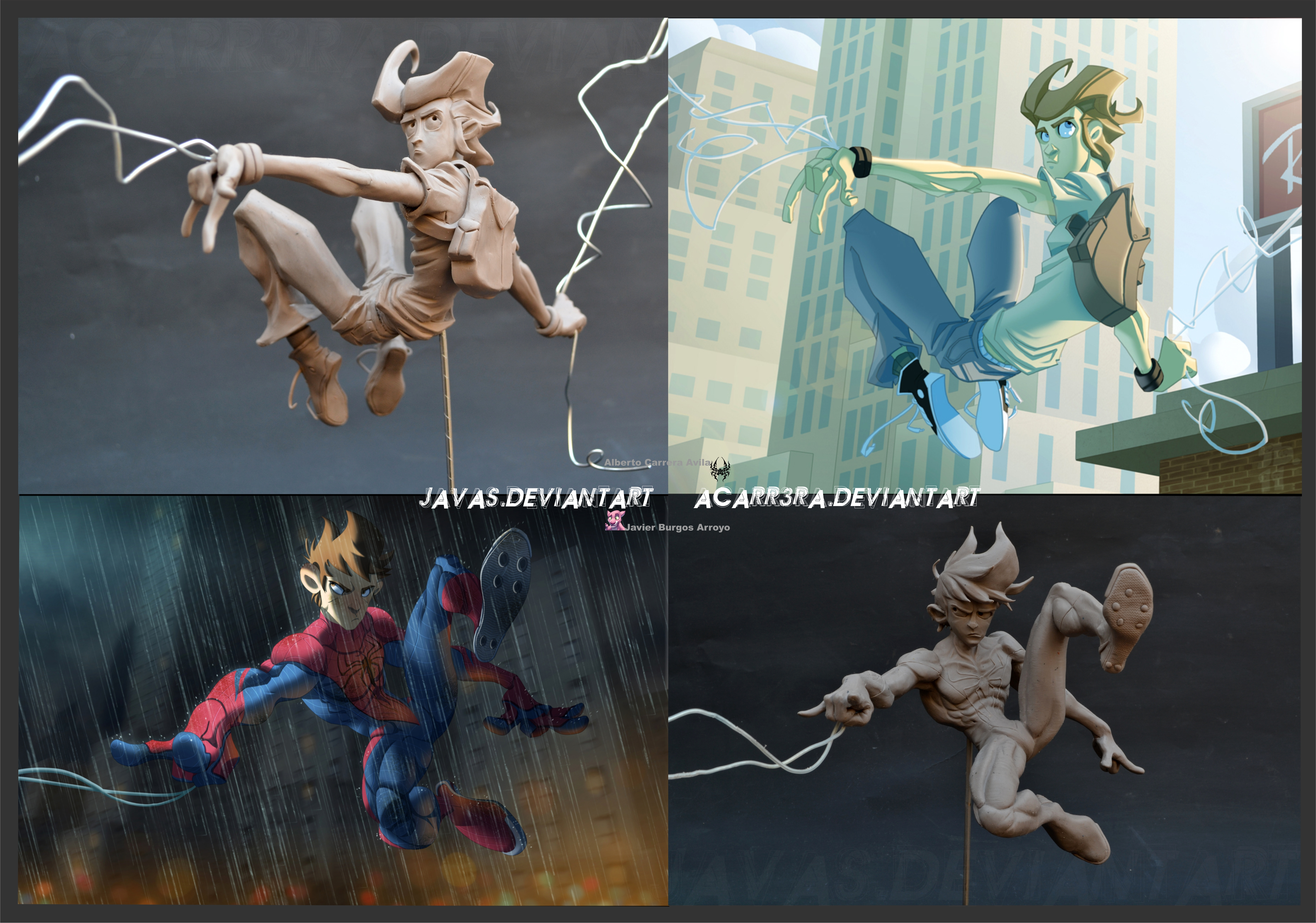 Spiderman-Parker by AlbertoCarrera
