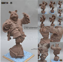 Chen Stormstout figure WIP
